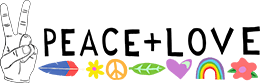 Peace and Love Ceremonies Logo - Evie Wilson Young Gippsland Marriage Celebrant